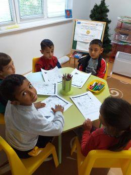 """Проект BG05M2ОP001-3.005-0004 """"Активно приобщаване в системата на предучилищното образование"""" 2020/2021г. - Изображение 5"""