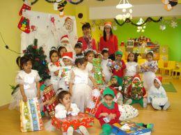 Коледни вълшебства - ДГ Щастливо детство - Твърдица