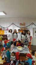Дядо Коледа в II яслена група 2017 - ДГ Щастливо детство - Твърдица