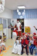 Дядо Коледа в II група 2017 - ДГ Щастливо детство - Твърдица