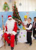 Дядо Коледа в IV група 2017 - ДГ Щастливо детство - Твърдица
