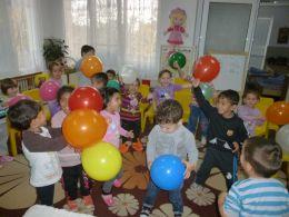II А група - МАРГАРИТКИ 2016 - ДГ Щастливо детство - Твърдица